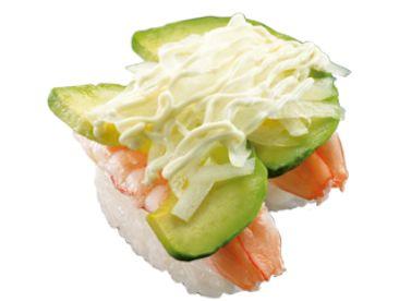 スシロー 女性に人気の創作寿司ランキング
